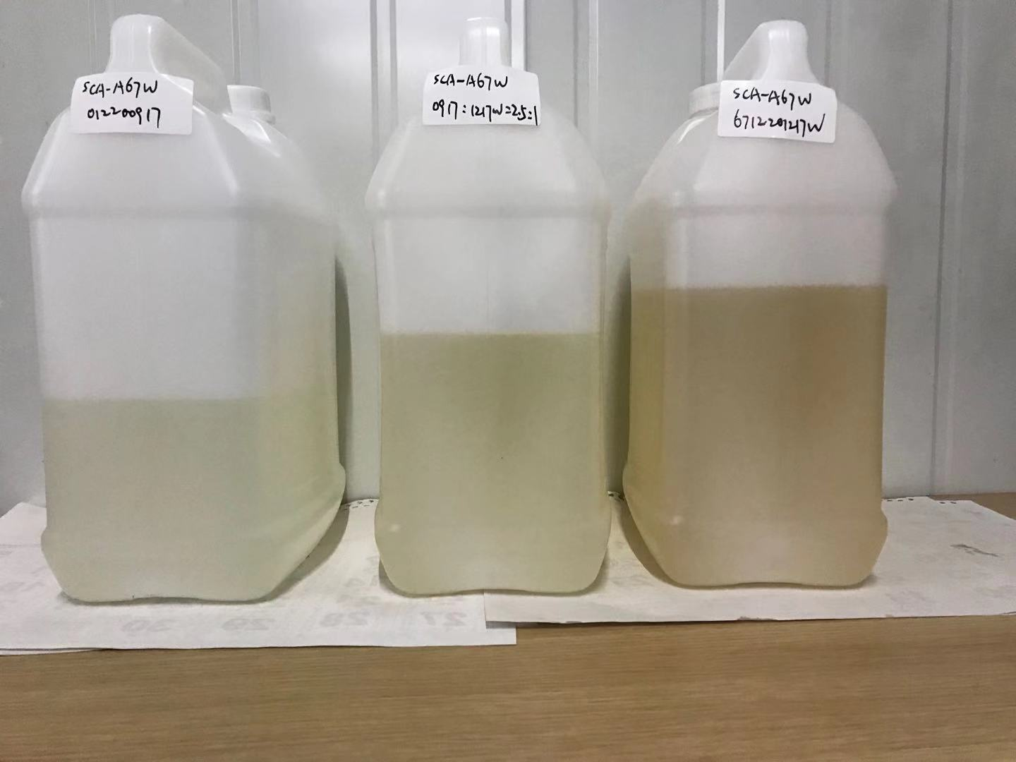 we can supply colorless amino silane A-1170(SCA-A67W)