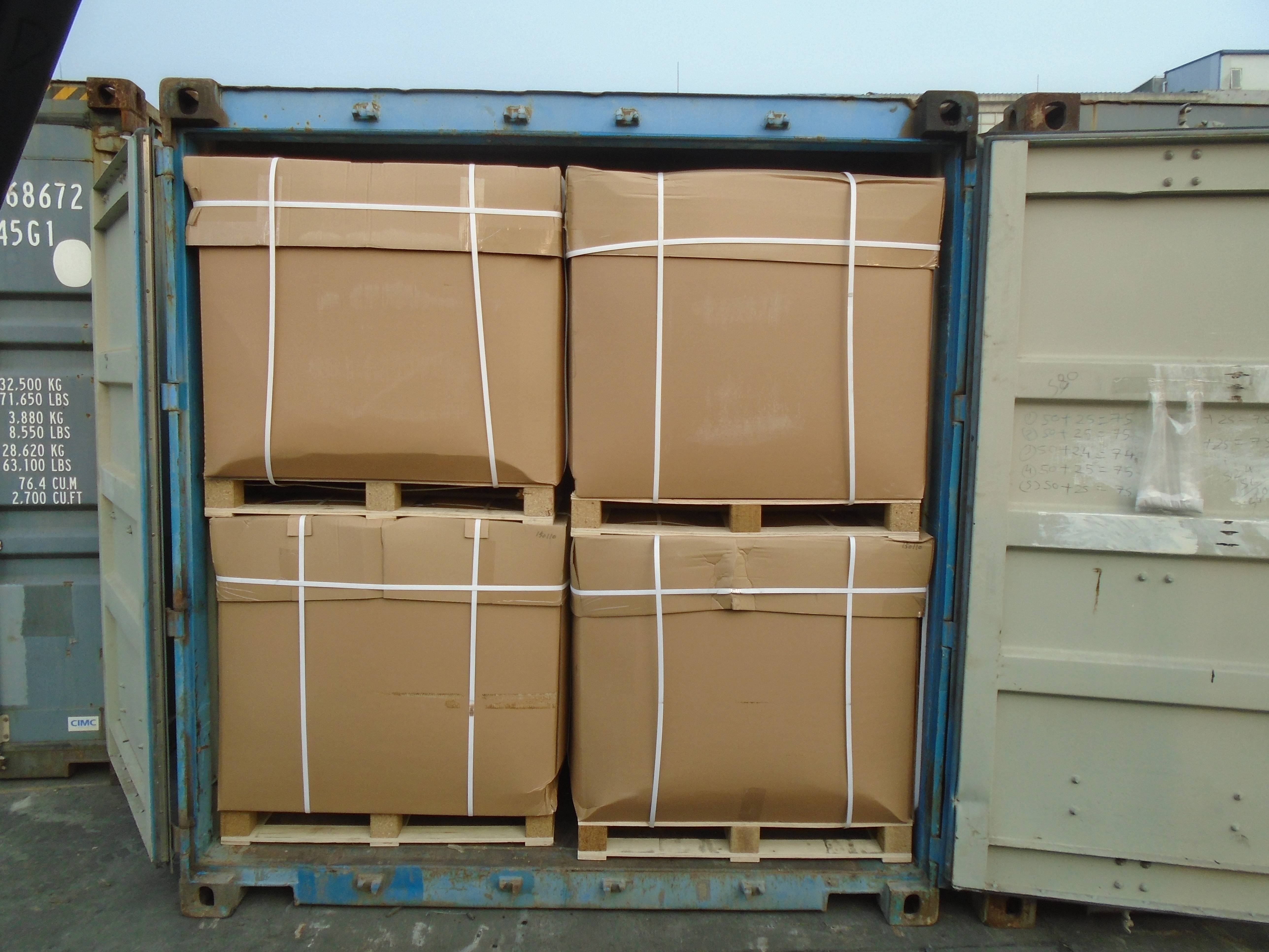 2 container of antioxidant CAPOX CPL is shipped